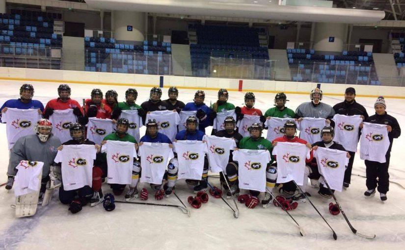 EWHL csapatunk közös felkészülése az Oulun Kärpät tagjaival