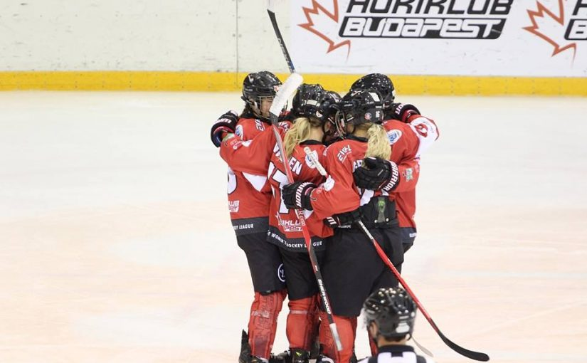 EWHL: 7:3-ra győzött női csapatunk a Bécs ellen!
